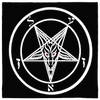 Azazel Sigil of Baphomet Altar Cloth