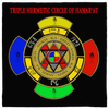 Triple Hermetic Circle of Hamar'at Egyptian Magick