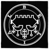 Sigil of Belial Altar Cloth