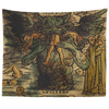 Lucifer Devouring Souls Dante's Inferno Tapestry