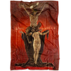 Satanists Devil Fleece Blanket