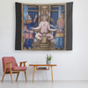 The Devil Holding Court Tapestry