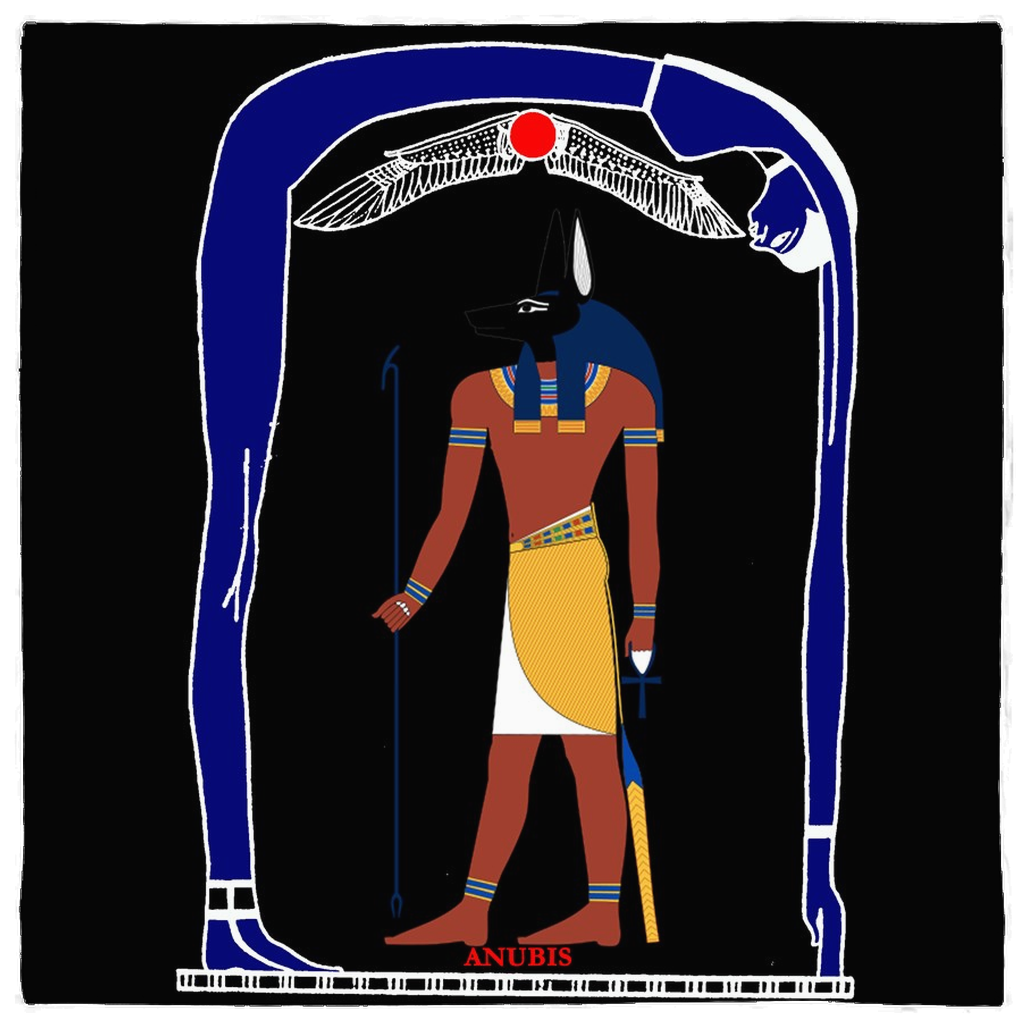 Anubis Egyptian God of Funeral Spells Death
