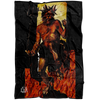 Satan Devil Demons Fleece Blanket