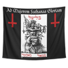 For the Greater Glory of Satan Theistic Satanist Tapestry
