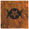 Witchcraft Altar Cloth - Hecate Crone Autumn Equinox