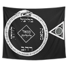 Luciferian Circle of Goetic Invocation and Evocation Tapestry