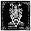 Witchcraft Altar Cloth - Hecate Dark Goddess of Witchcraft