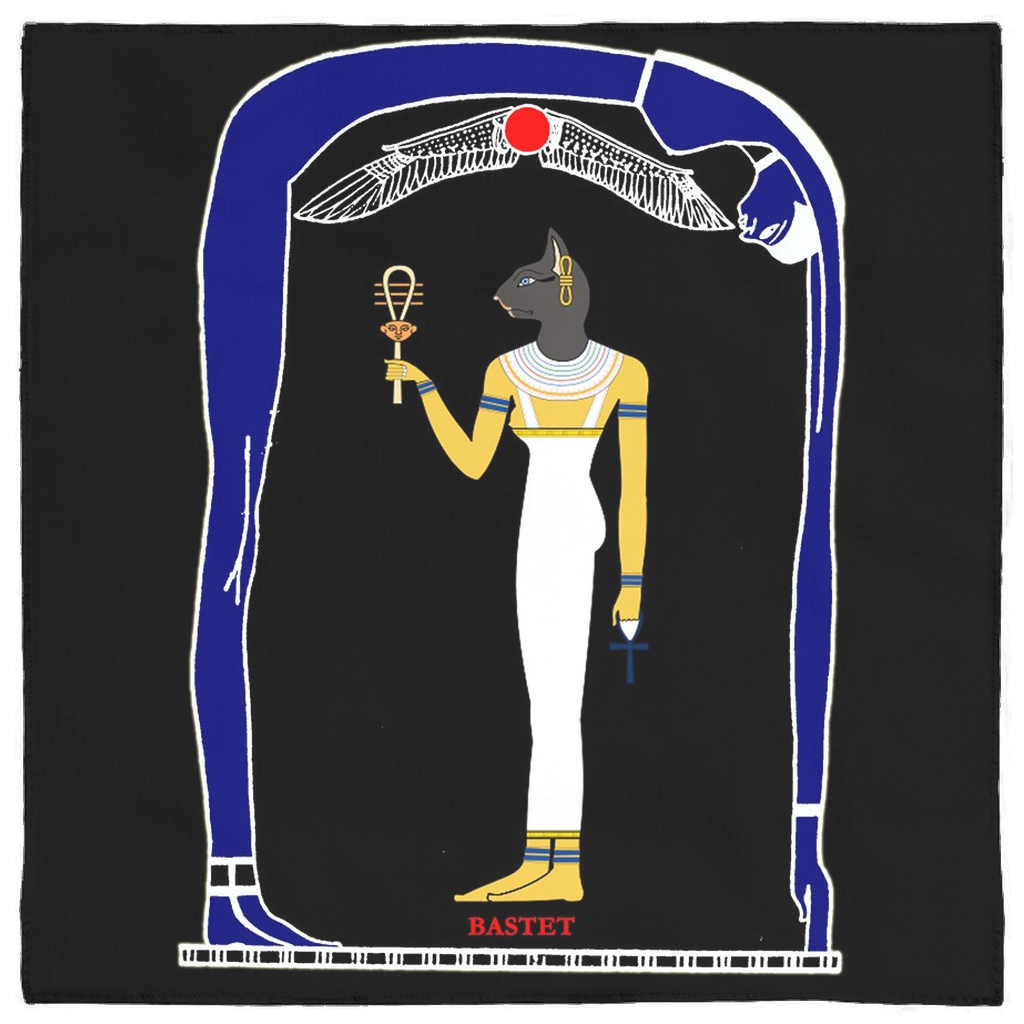 Bastet Goddess Altar Cloth