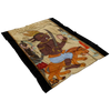 Al-Ahmar Jinn of Mars Fleece Blanket