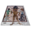 Beelzebub King of Demons Fleece Blanket