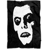 Demonic Spirit Horror Fleece Blanket
