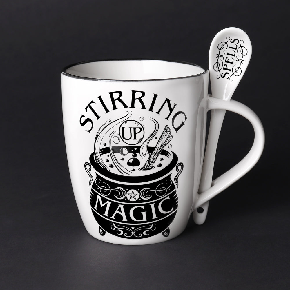 Stirring Up Magic Mug & Spoon Set