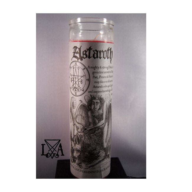 Astaroth Divination: Inspire Divination, Dreams Glass Spell Candle