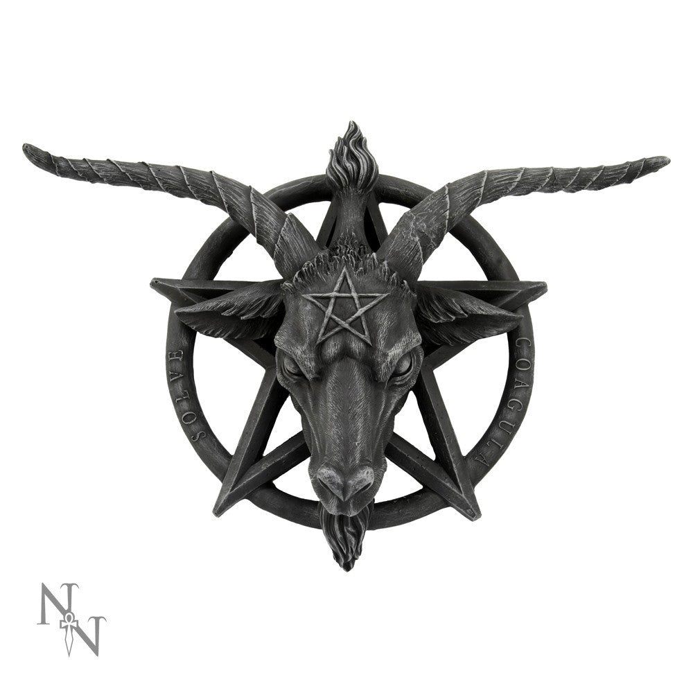 Baphomet Wall Plaque 16""