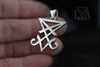 Sigil of Lucifer Sterling Silver .925 Pendant