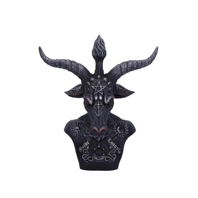 "Baphomet Bust 33cm/ 13"" inches tall"
