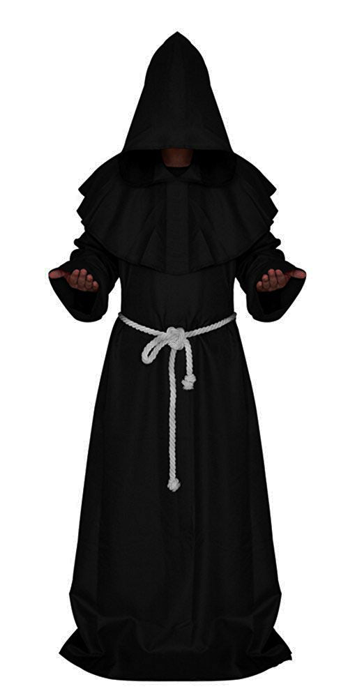 Friar of Darkness Medieval Priest Robe