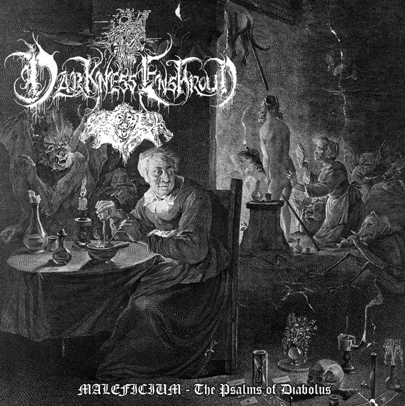 "Darkness Enshroud ""Maleficium - The Psalms of Diabolus"" Satanic Ritualistic Black Ambient feat. Akhtya"