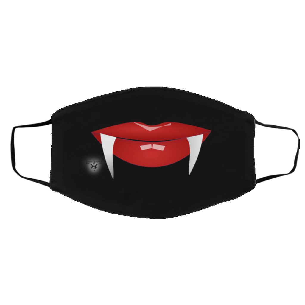 Vampire Lips Med/Lg 2-Layer Protective Face Mask