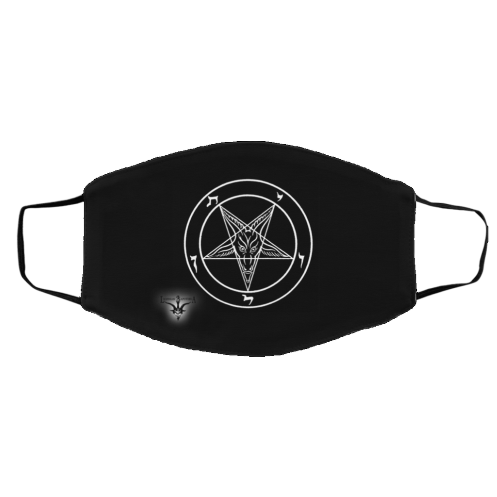 Sigil of Baphomet Med/Lg 2-Layer Protective Face Mask