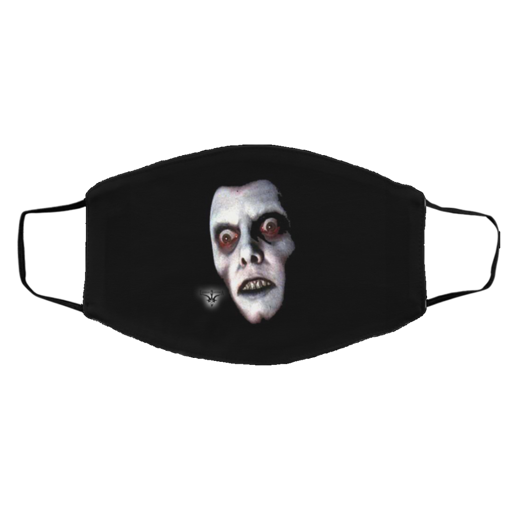 Exorcist Pazuzu Demon Med/Lg 2-Layer Protective Face Mask