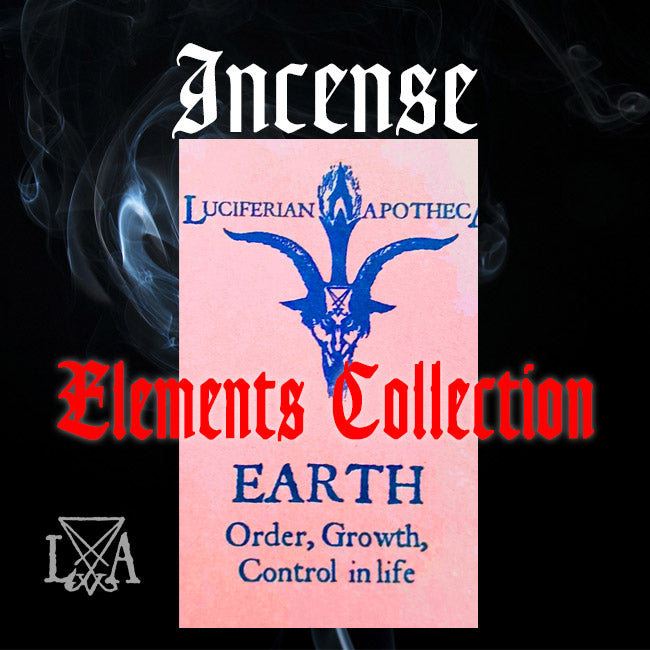 Elements Incense - Earth, Air, Fire, Water