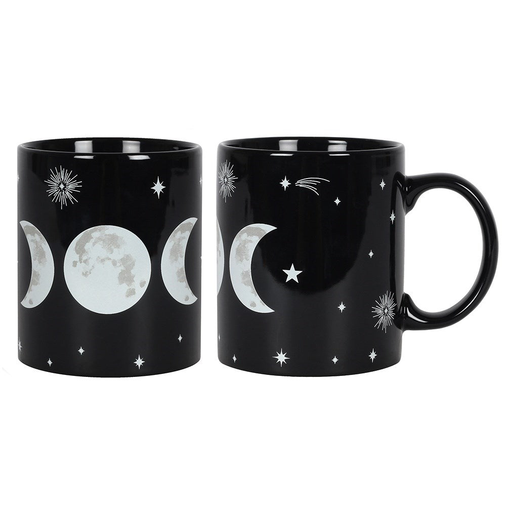 Triple Moon Black Magic Mug