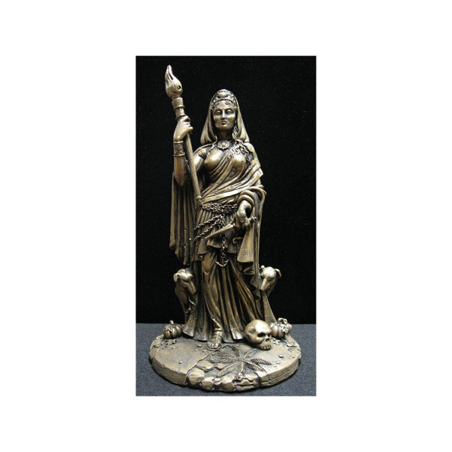 Goddess Hecate / Hekate Statue (Bronze Finish)