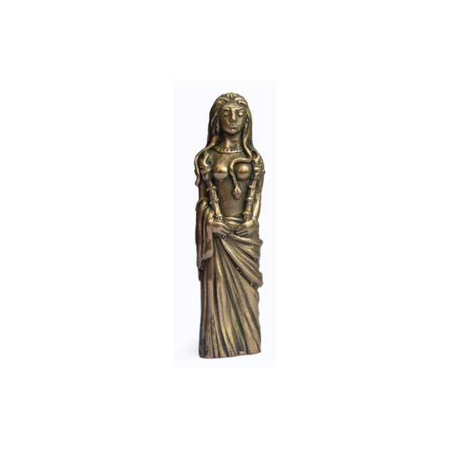 Pocket Hecate Phosphorus Bronze Statue