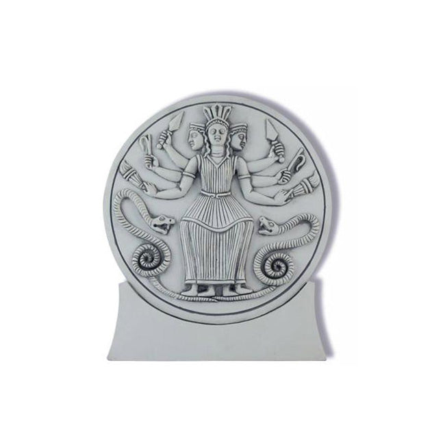 Roman Hecate Goddess of Magick, Healing, Renewal and Underworld Plaque