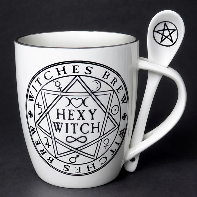 Hexy Witch Cup & Spoon