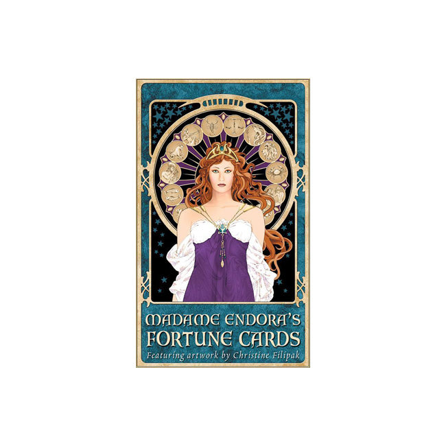 Madame Endora's Fortune Cards & Book of Fortunes