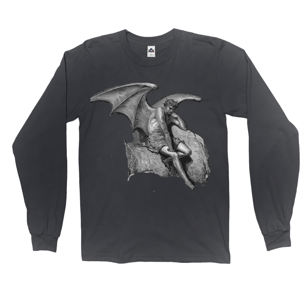 Satan (Lucifer) Bringer of Wisdom Long Sleeve Shirts