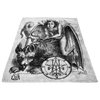 Astaroth Goetia Demon Fleece Blanket