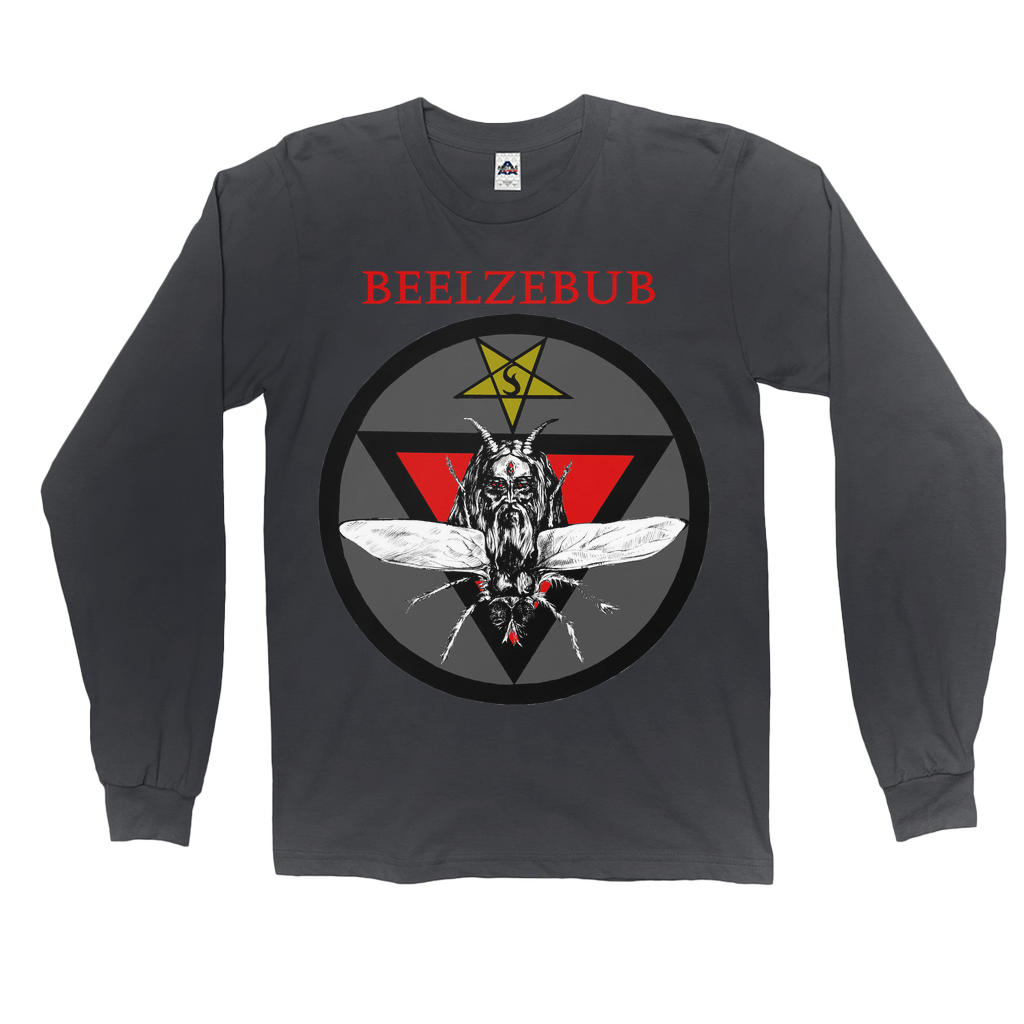 Beelzebub Lord of Flies Long Sleeve T-Shirt