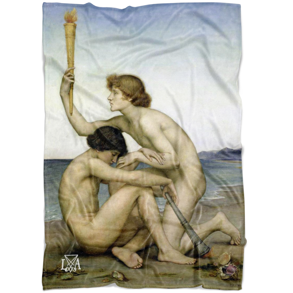Venus, Lucifer, Phosphorus & Vesperus Roman Deities Fleece Blankets