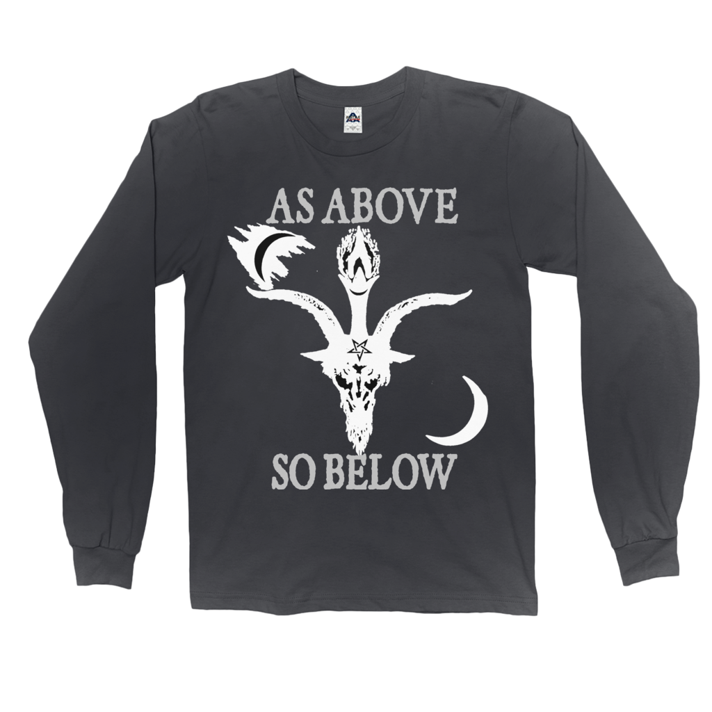 As Above So Below Long Sleeve Shirt