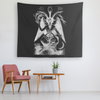 The Nightside Sabbatic Goat Tapestry