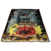 Dark Castle of Hell Fleece Blanket