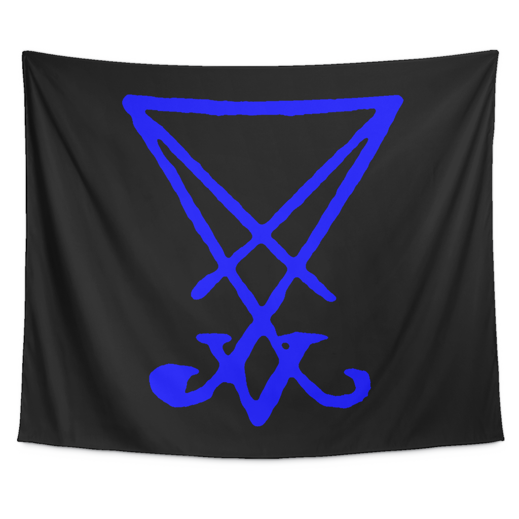 Lucifer Sigil Tapestry