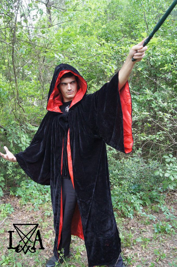 Hooded Warlock & Sorcerer Robe