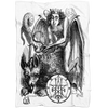 Astaroth Demon Fleece Blanket