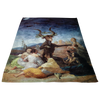 Witches Sabbat by Goya Fleece Blanket