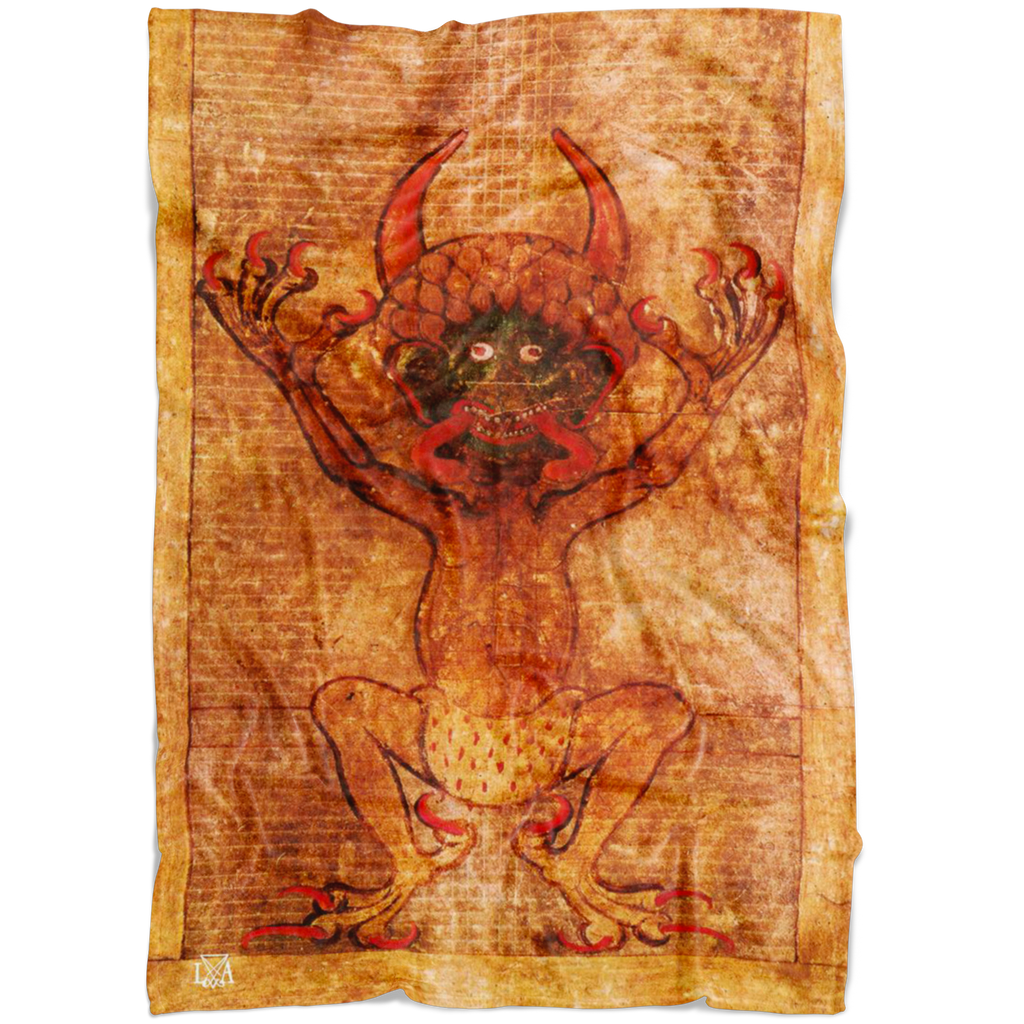Devil Satan Fleece Blanket