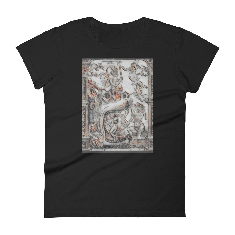 Gate of Hell Ladies T-Shirt