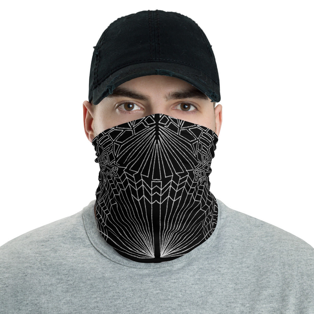 Web Pattern Neck Gaiter