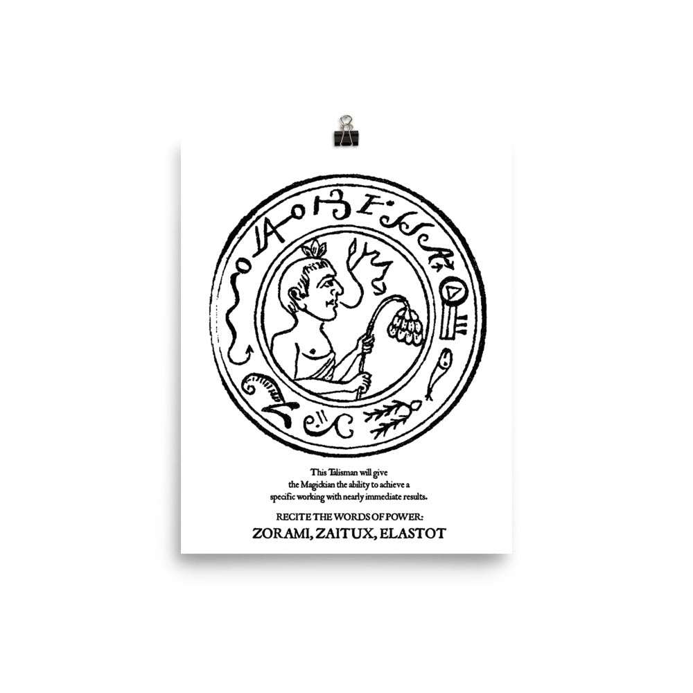 Achieve Results Talisman Poster