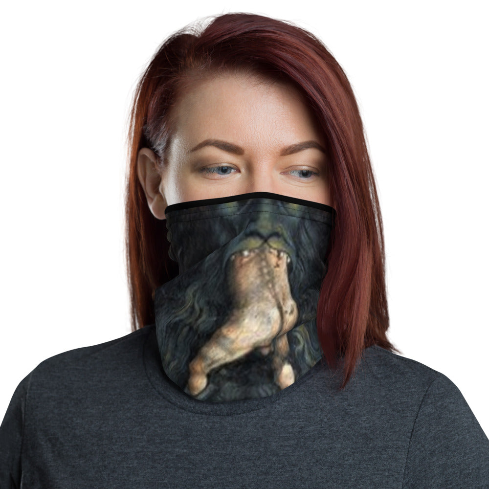 Lucifer's Man Eater Neck Gaiter Mask