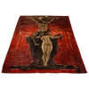 The Satanists by Felicien Rops Fleece Blanket